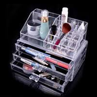 Get Quotations  US Stock Free Shipping Clear Acrylic Cosmetic Makeup  Storage Multiple Box draws Organizer SF-1304