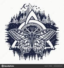 Keltské Trinity Knot Motýl Helm Awe Aegishjalmur Tetování