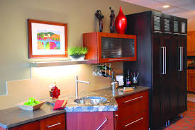 Funky Kitchen Contemporary Kitchens Offer Color Style And Artistic Design