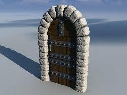 minecraft door. Castle Door By Minecraft Pe
