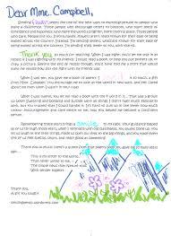 Letter 14 Mme Cambell Sending Petals
