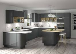 Captivating Gray Kitchens Gallery
