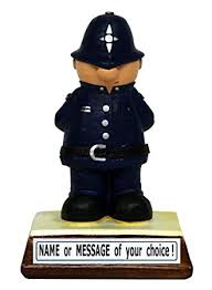 personalised police officer the perfect present gift for that special someone who loves catching