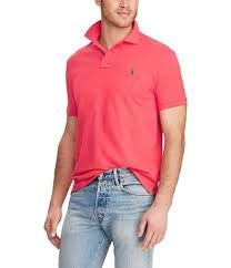 polo ralph lauren big tall classic fit short sleeved cotton mesh polo shirt