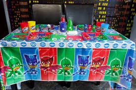 Pj Mask Party Decoration Ideas PJ Masks Party Ideas and Printables Moms Munchkins 98