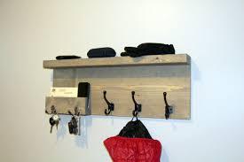 Coat Rack With Hooks Gorgeous Buy Entryway Storage Coat Rack With Pocket Mail Storage Coat Hooks