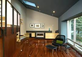 recessed light sloped ceiling ceiling treatment with beams cathedral