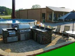 Outdoor Kitchen Pool House Plans Home Romantic - Outdoor kitchen designs with pool