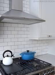 Subway Tiles Kitchen Subway Tile Kitchen Backsplash Installation Jenna Burger