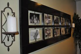 Old Door Decorating Diy Rustic Decorating A Door Picture Frame Homestylediarycom