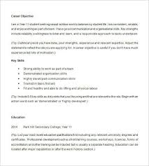 Resume Examples For Highschool Students Stunning 28 Resume Examples For Highschool Students Malawi Research