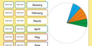 Date Of Birth Age Chart Pie Chart Class Birthday Pack Birthday Date Of Birth