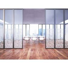contemporary square pattern window frosted vinyl privacy glass cover fi