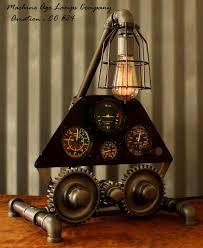 diy industrial lighting. Top 56 Supreme Steampunk Desk Lamp Industrial Socket Pipe Floor Diy Lighting Vision N