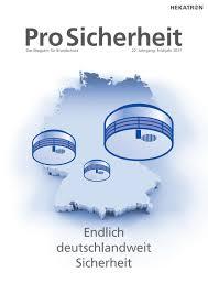 ProSicherheit 1/2017 by mkpublishing - issuu