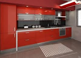 Stupefying Kitchen Design Red And Black Kitchen Cabinets As Elegant On Home  Ideas. « »