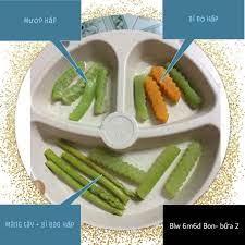 Menu ăn dặm BLW cho bé 6 tháng tuổi – ME4BEYEU.COM