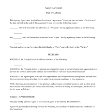 Agent Contract Template - East.keywesthideaways.co
