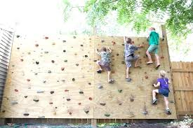 diy outdoor climbing wall building your own climbing wall backyard rock climbing wall building a freestanding diy outdoor climbing wall