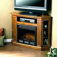 menards fireplace tv stand corner unit electric