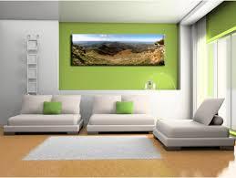 Tableau paysage Pays Basque sur toile, plexi et alu - Déco design