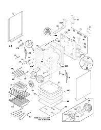 Free download wiring diagram frigidaire glef378cqb electric range timer stove clocks and of wiring diagram
