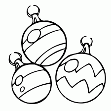 Small Picture Free Christmas Ornaments decorations coloring page Free Coloring