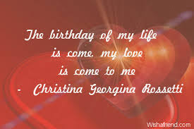 Love Birthday Quotes Adorable The Birthday Of My Life Is Love Birthday Quote