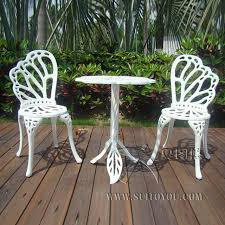 aluminum patio chairs. 3-piece Hot Sale Cast Aluminum Patio Furniture Garden Outdoor  Chairs An Table In N