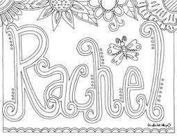 Free Custom Name Coloring Pages Coloring Page