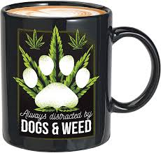 Mini bongs or small bongs are one of our favorites, you can take the mini bongs anywhere you go, perfect for traveling and having a picnic sesh with friends outdoors! Amazon Com Weed Coffee Mug Always Distracted By Dogs And Weed Pot Head Smoker Smoke Cannabis Bong Pipes Puppy Dog Mom Dad 11oz Black Kitchen Dining
