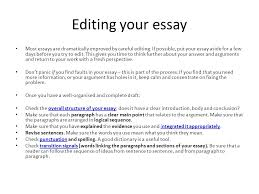 how to prepare and present high quality essays ppt video online  editing your essay