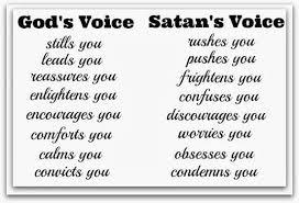 Satanic Bible Quotes Beauteous GOD'S VOICE Vs Satan's Voice INSPIRATION MOTIVATION Pinterest