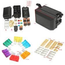 car truck plastic+metal fuse box 6 relay socket holder 5 road image is loading car truck plastic metal fuse box 6 relay