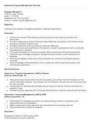 Apartment Property Manager Resume Businessdegreeonlineco Interesting Assistant Property Manager Resume