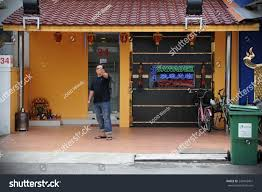 Red Light District Geylang Singapore Singapore Nov 14 View Exterior Brothel Stock Photo Edit Now