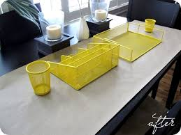 yellow office decor. Office Accessories Summer Makeover Yellow Decor G