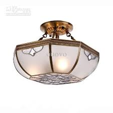 best 16 vintage european copper living room chandeliers octagon glass lampshade bedroom ceiling lamps dining room restaurant ceiling lights under 201 01