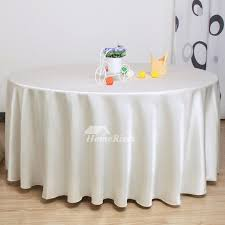pictures show white tablecloth pink gray polyester thicken 120 inch round
