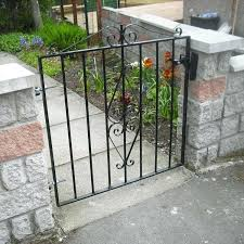 full image for 4 ft wide metal garden gate garden gates metal the ascot by gates
