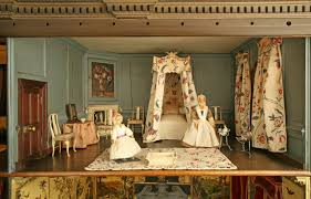Dolls House Nostell Priory Conservation Blog - Dolls house interior