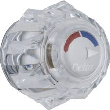 clear knob handle for 13 14 series shower faucets