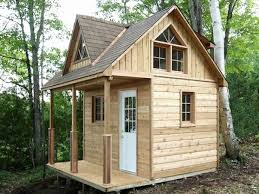 Tiny House Plans with Loft Small House Plans Small Cabin Plans with Loft Kits  Micro Cabin