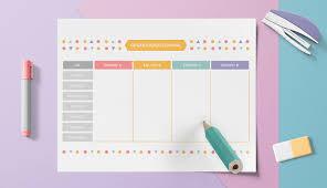 Usa Un Planificador Semanal Para Organizar Mejor Tu Año Laboral
