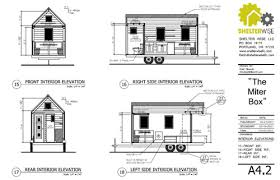 Miter Box Tiny House Sample Plan Page