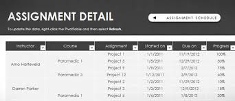 assignment template for excel   assignment schedule template for excel 2013