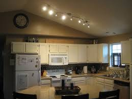 Lovely Kitchen Lighting Design Using Track Lights : Beautiful Kitchen  Design Ideas With Wavy Stainless Steel ...