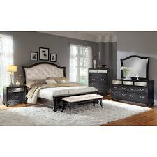 Marilyn Monroe Bedroom Furniture Marilyn Queen Bed Ebony Value City Furniture