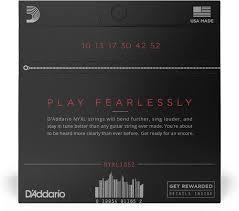 <b>Струны</b> для электрогитары <b>D'Addario NYXL1052</b> 10-52, <b>Дадарио</b> ...