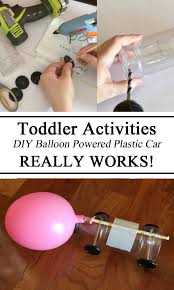 Balloon Car Design Challenge Girl Scouts Balloon Air Powered Water Bottle Car Stem Challenge